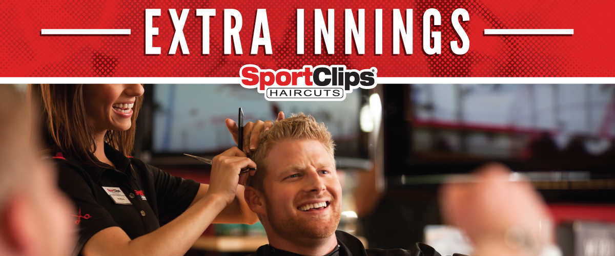 The Sport Clips Haircuts of San Tan Village Extra Innings Offerings